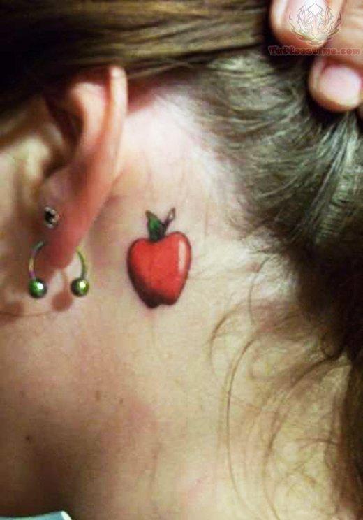 apple tattoos photo - 14