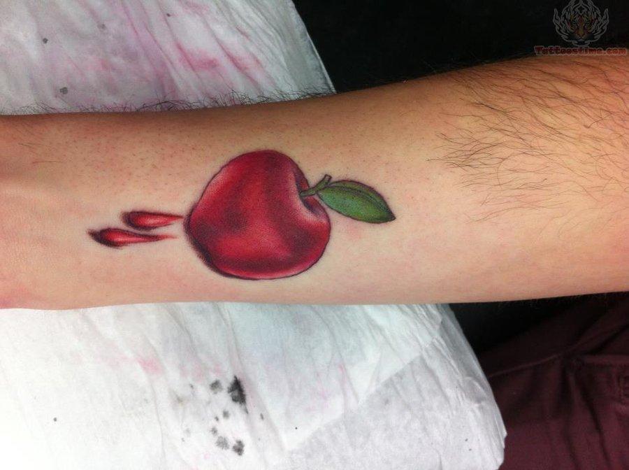 apple tattoos photo - 15