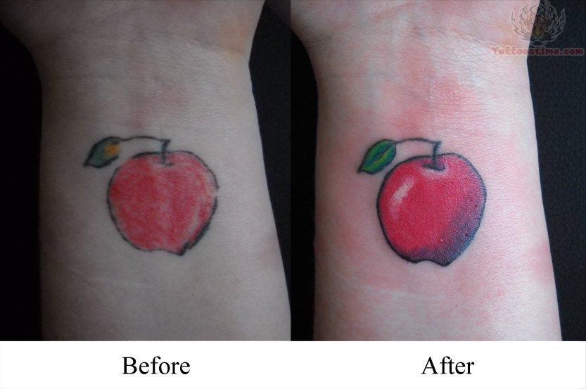 apple tattoos photo - 17
