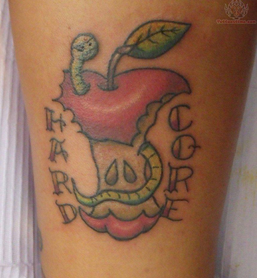 apple tattoos photo - 18