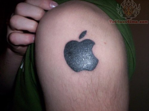 apple tattoos photo - 23