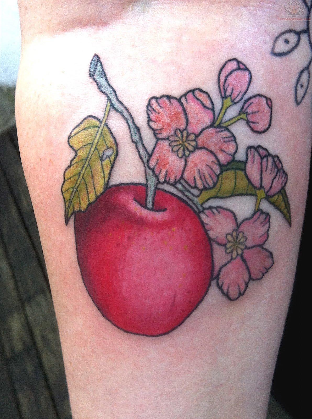 apple tattoos photo - 24