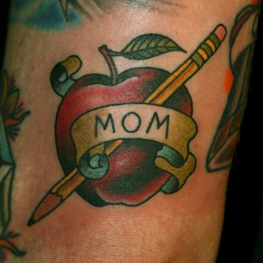 apple tattoos photo - 26
