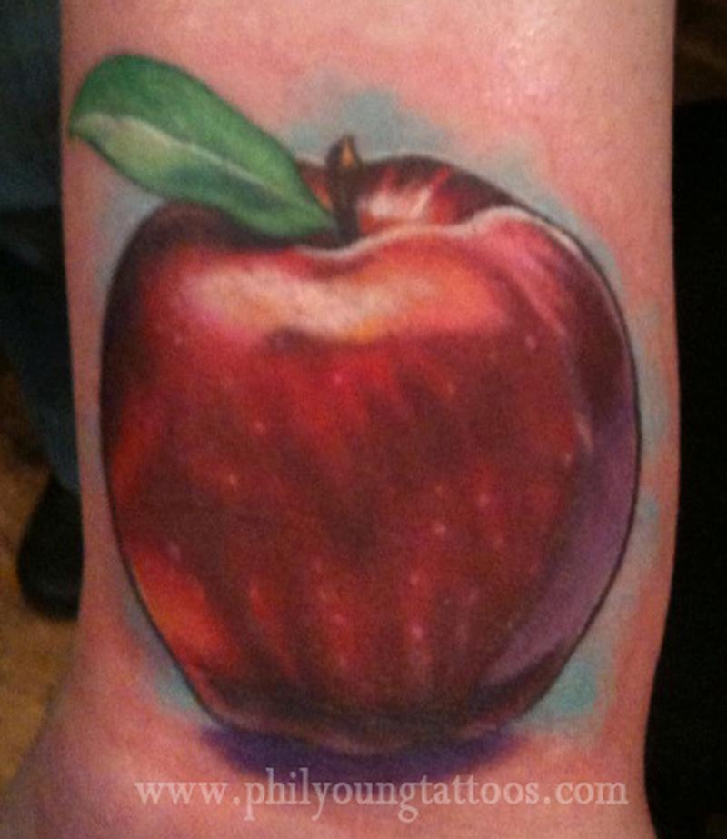 apple tattoos photo - 3