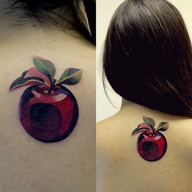 apple tattoos photo - 31
