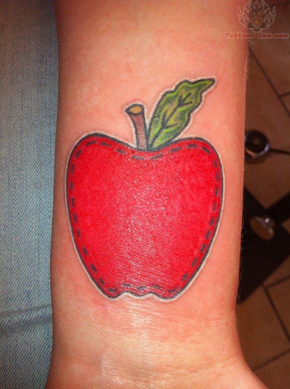 apple tattoos photo - 6