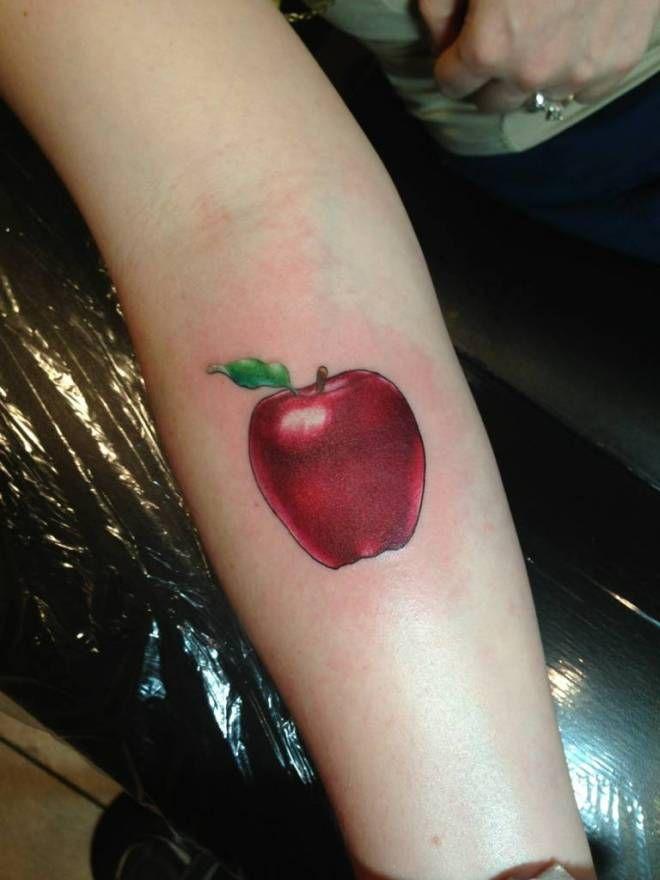apple tattoos photo - 9
