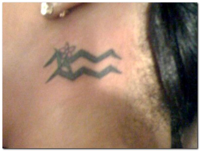 aquarius tattoos photo - 12