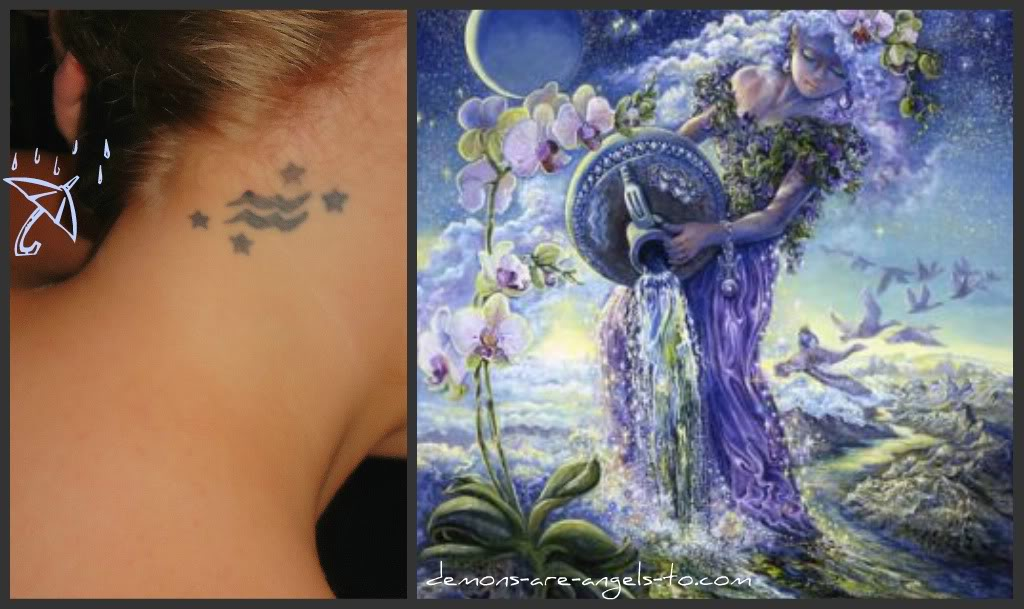 aquarius tattoos photo - 23