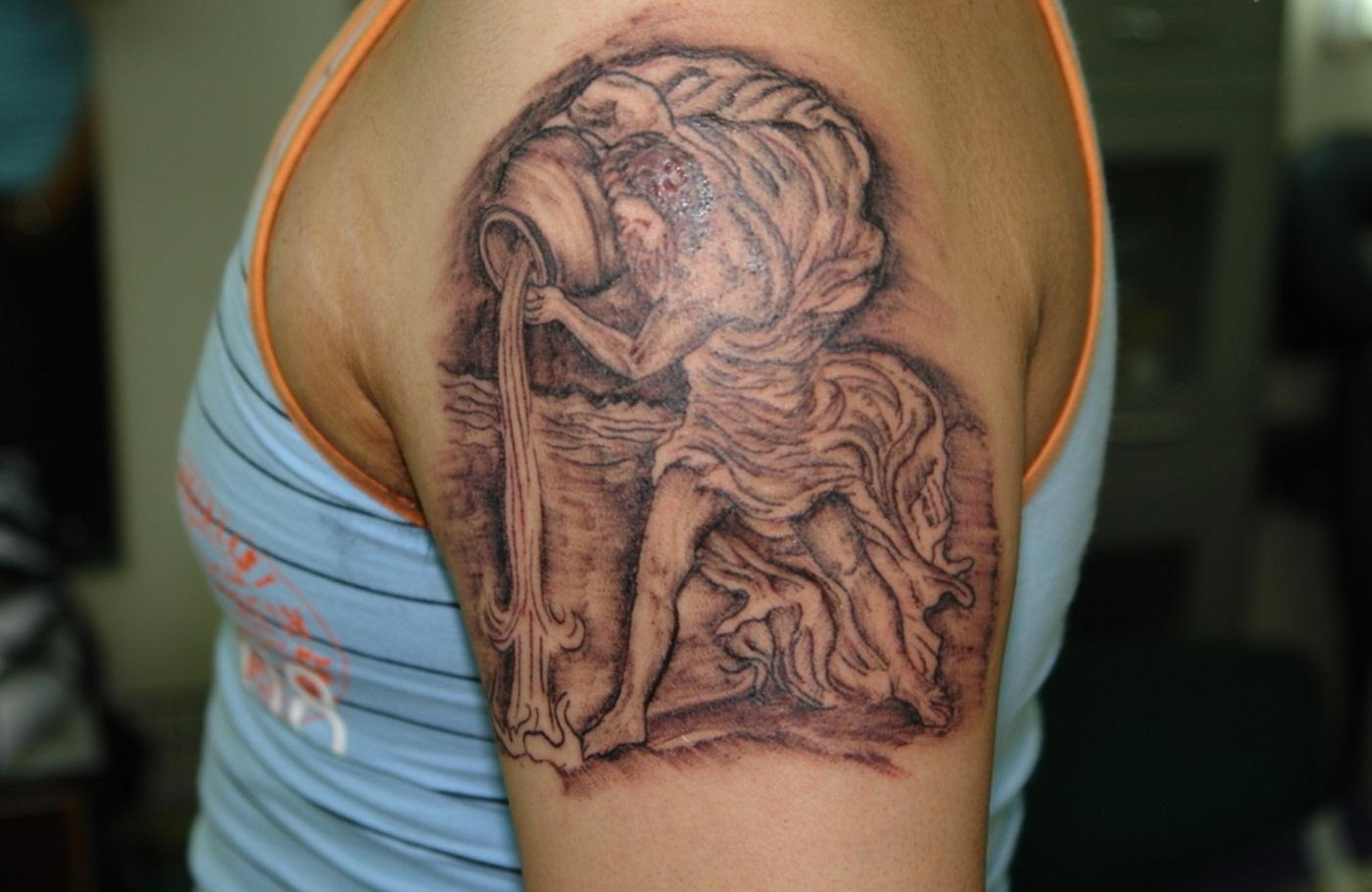 aquarius tattoos photo - 5