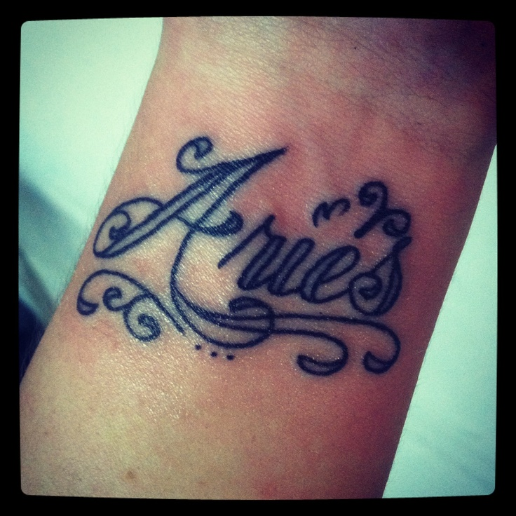 aries tattoos photo - 14