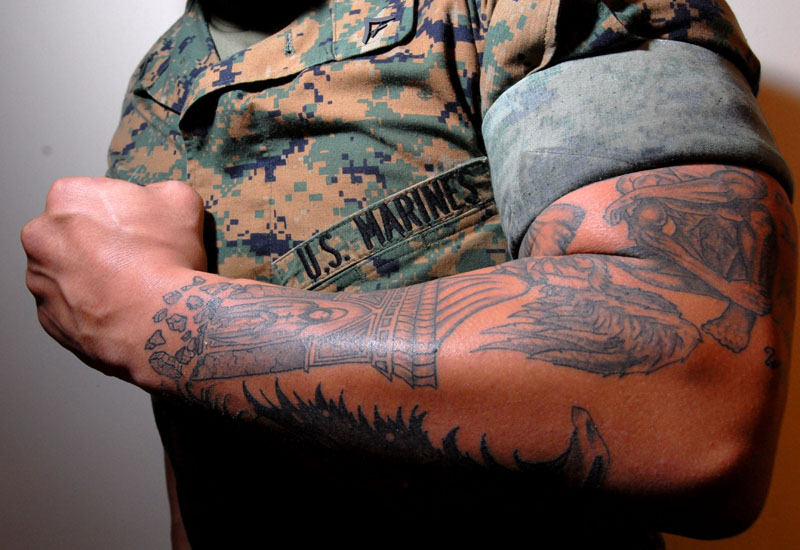 army tattoos photo - 11