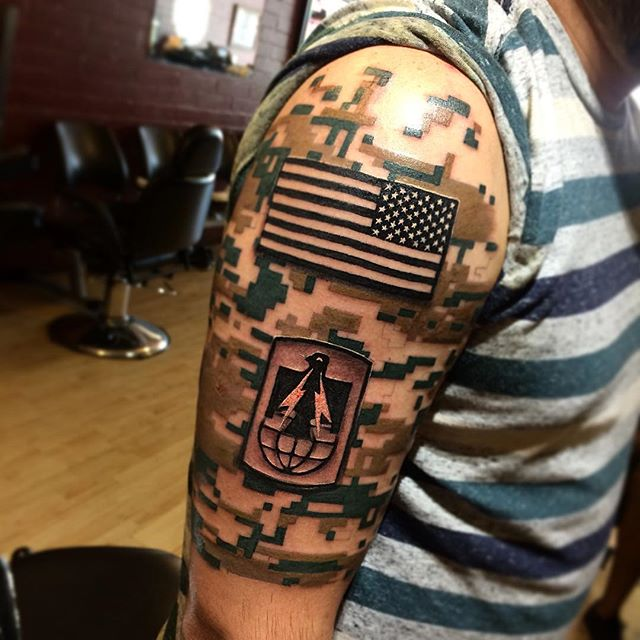 army tattoos photo - 16