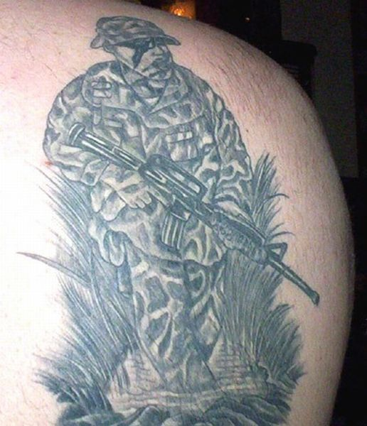 army tattoos photo - 19