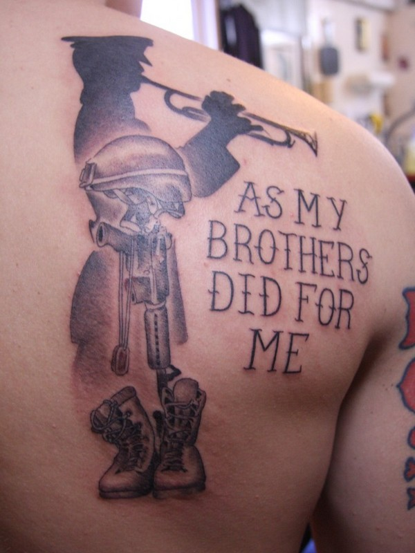 army tattoos photo - 27