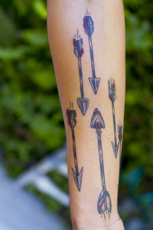 arrow tattoos photo - 21