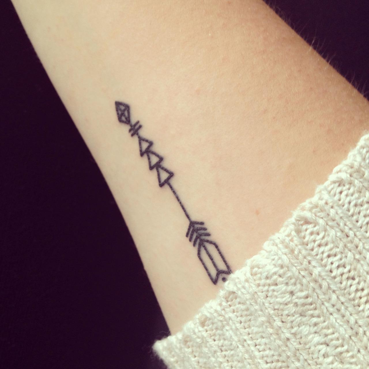 arrow tattoos photo - 23
