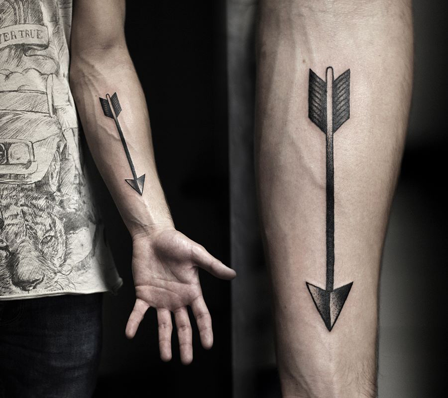 arrow tattoos photo - 31