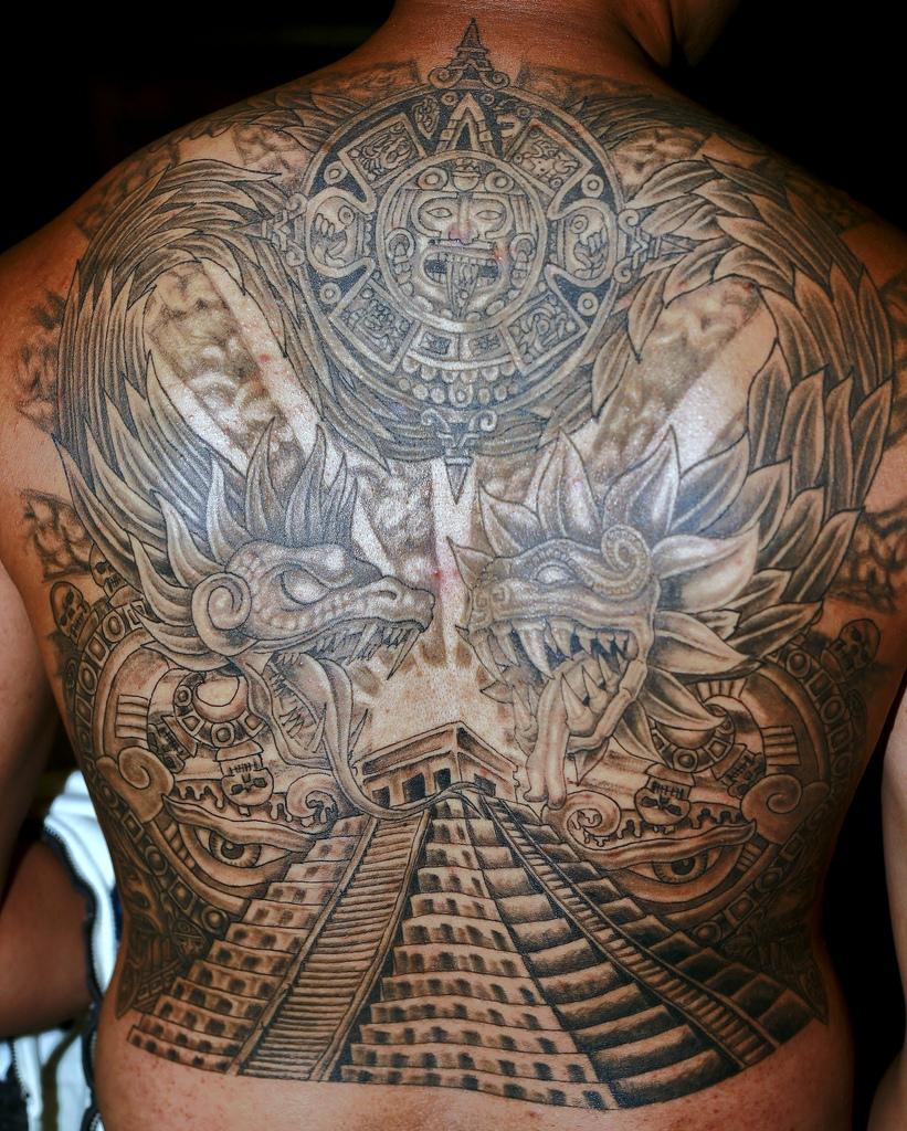 aztec tattoos photo - 10