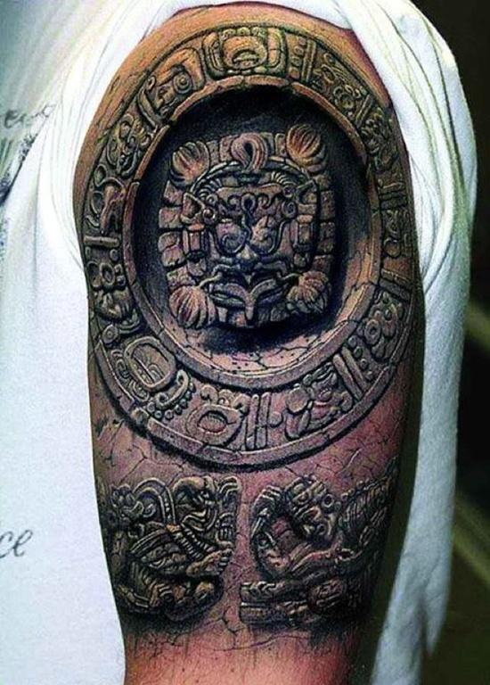 aztec tattoos photo - 13
