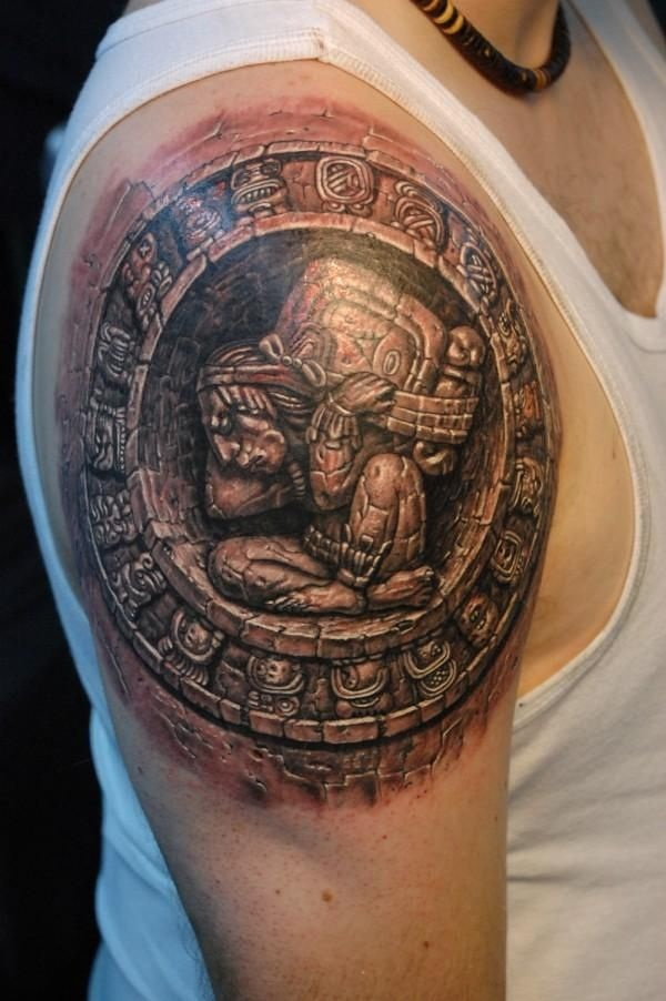aztec tattoos photo - 14