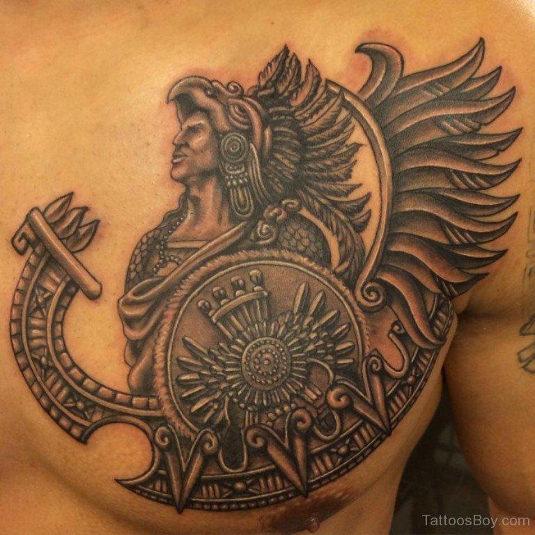 aztec tattoos photo - 15