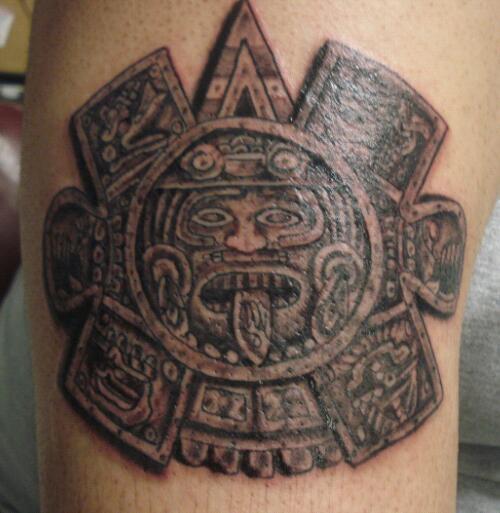 aztec tattoos photo - 16