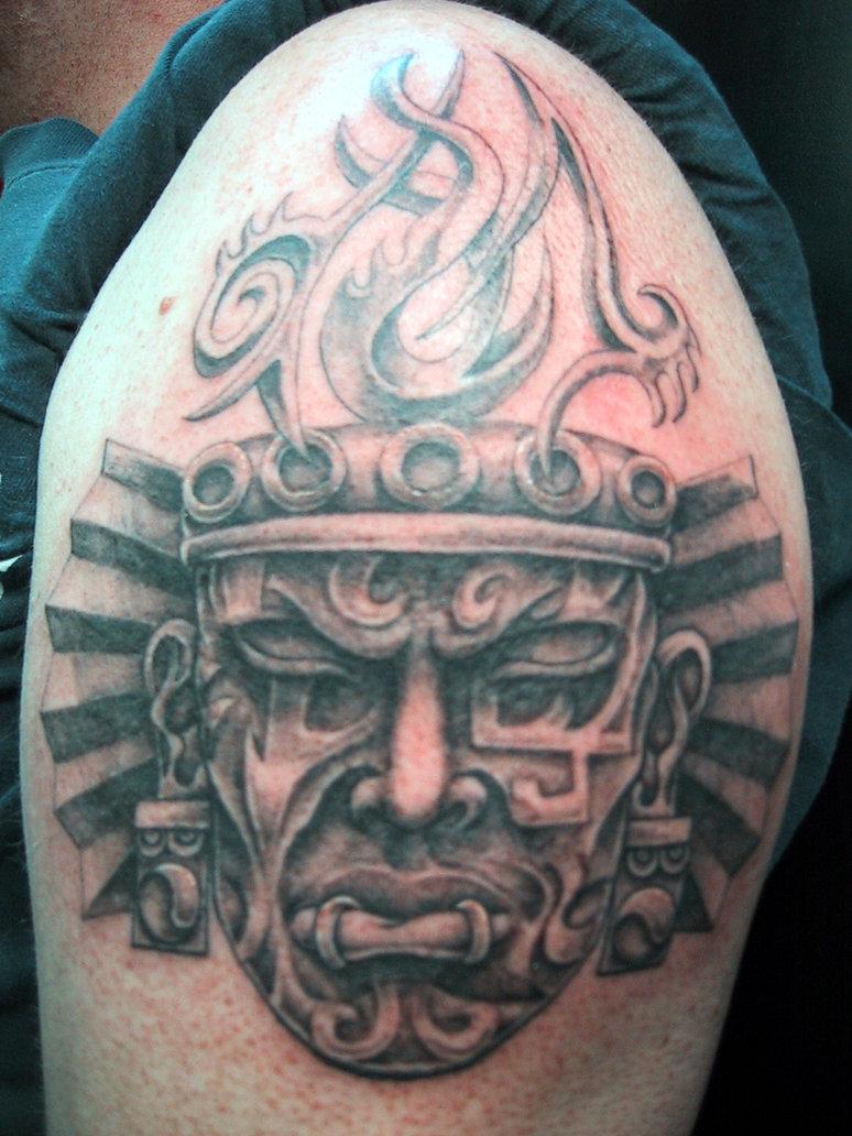 aztec tattoos photo - 17