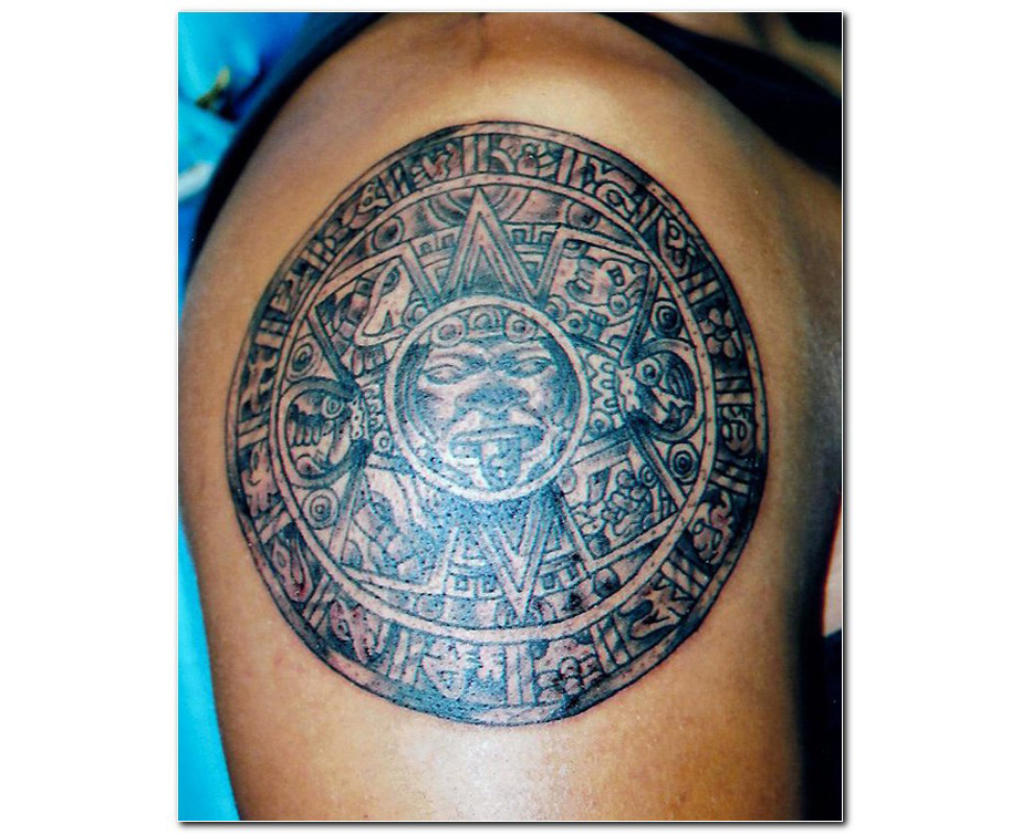 aztec tattoos photo - 18