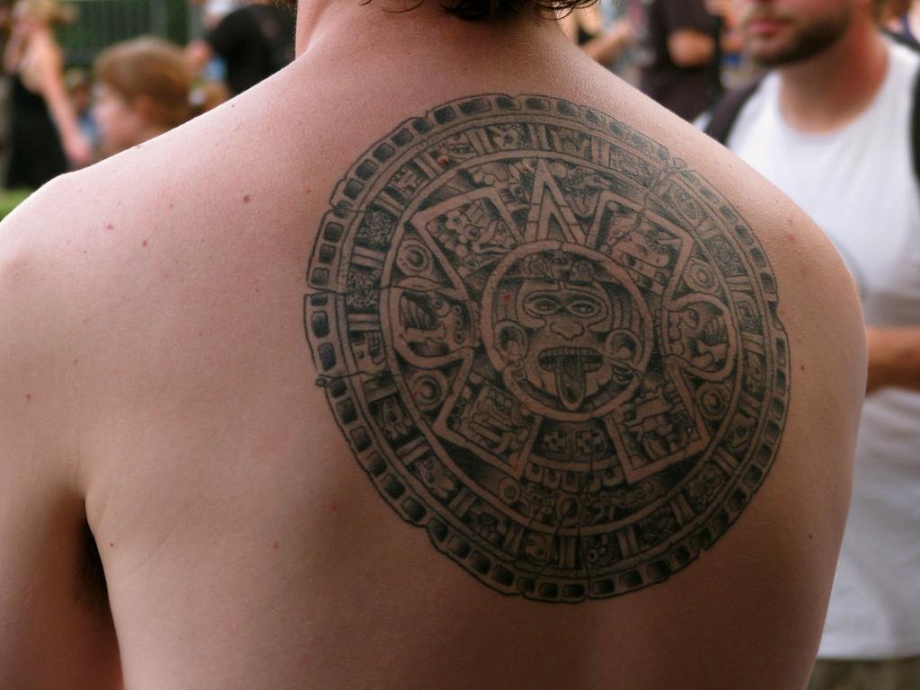 aztec tattoos photo - 2