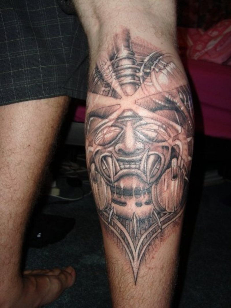 aztec tattoos photo - 21