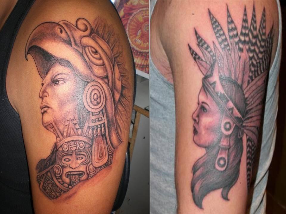 aztec tattoos photo - 23