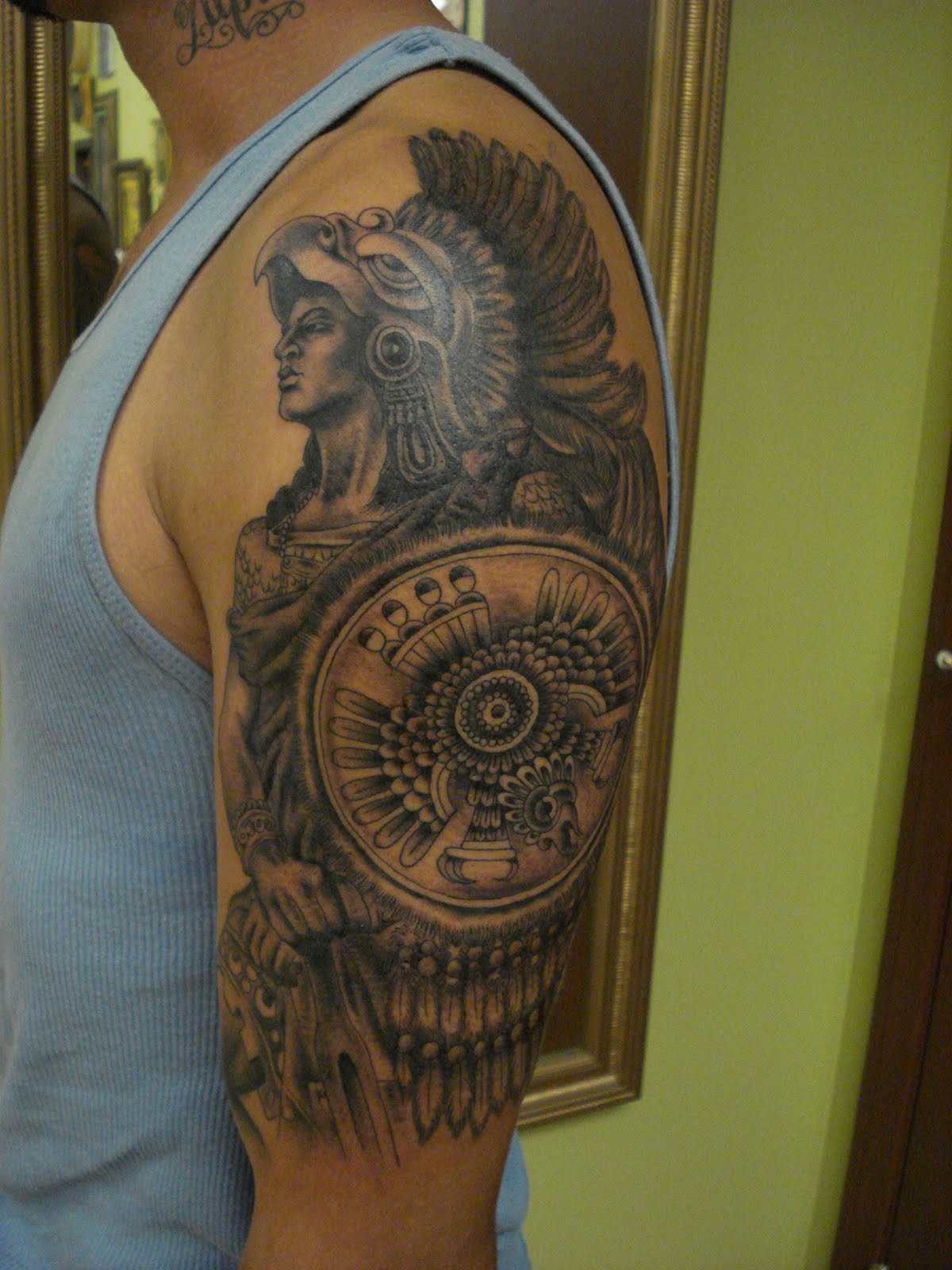 aztec tattoos photo - 25