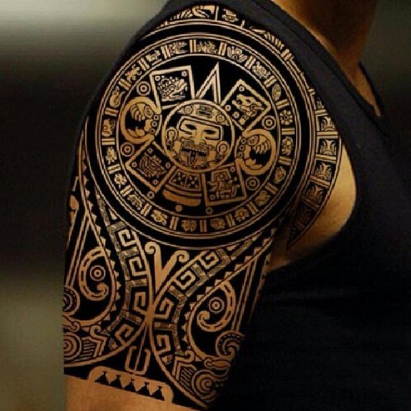 aztec tattoos photo - 29