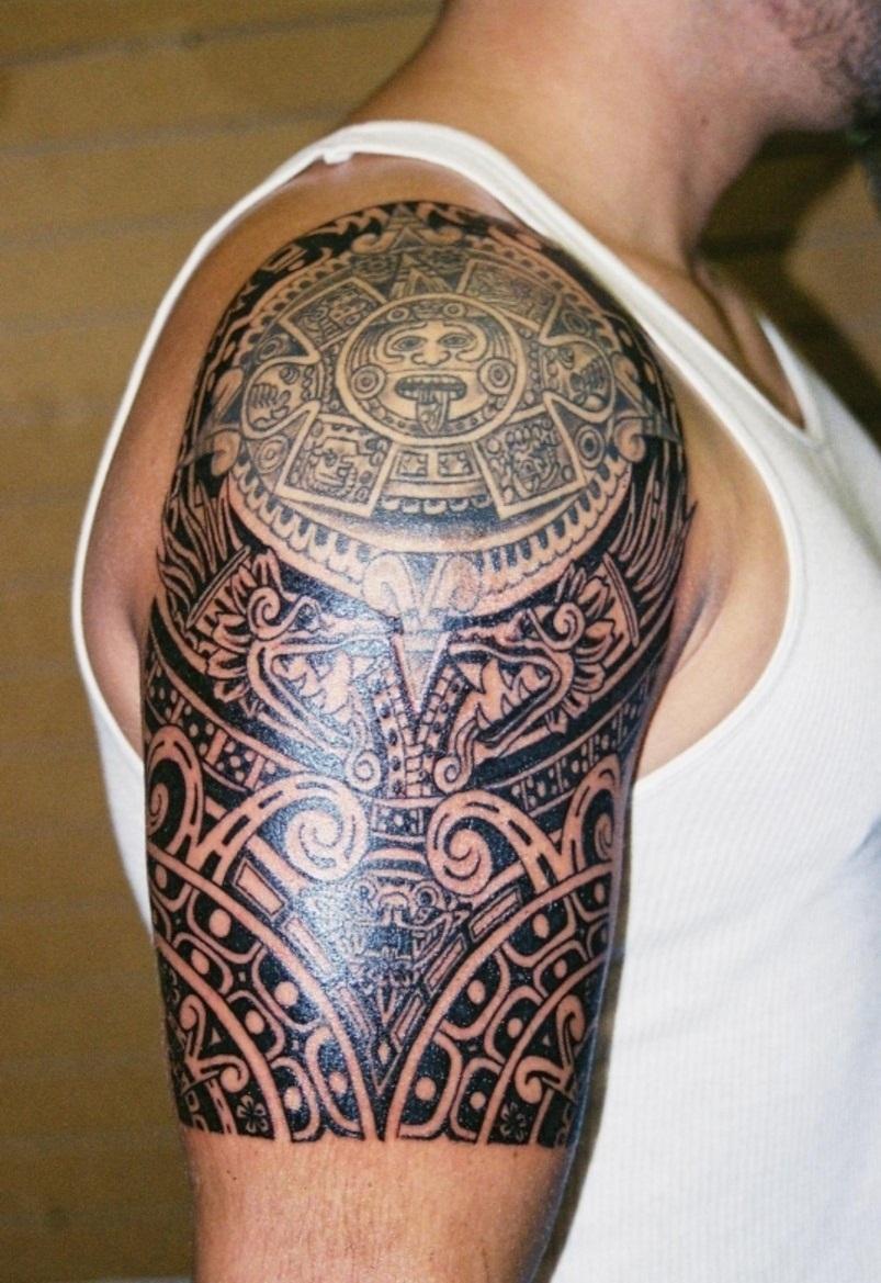 aztec tattoos photo - 3
