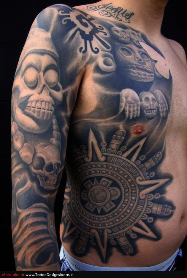 aztec tattoos photo - 30