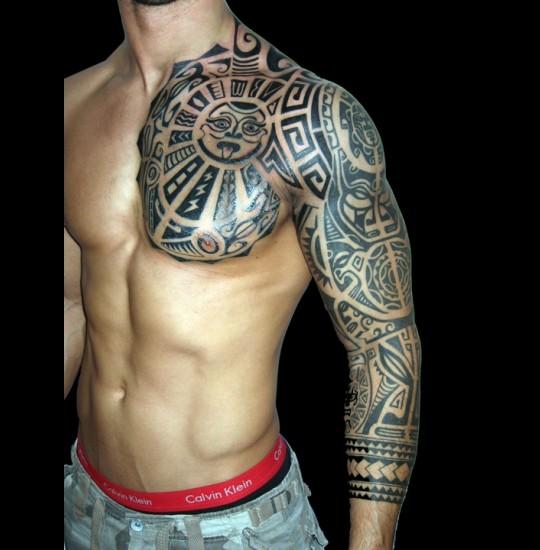 aztec tattoos photo - 32