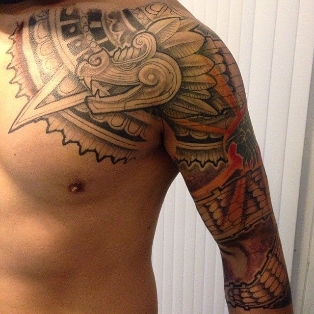 aztec tattoos photo - 34