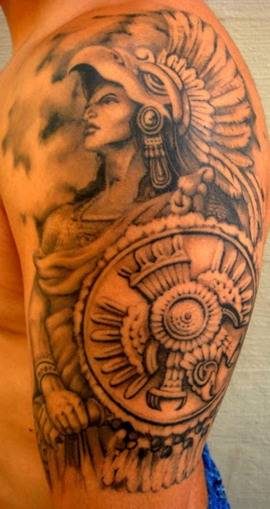 aztec tattoos photo - 4