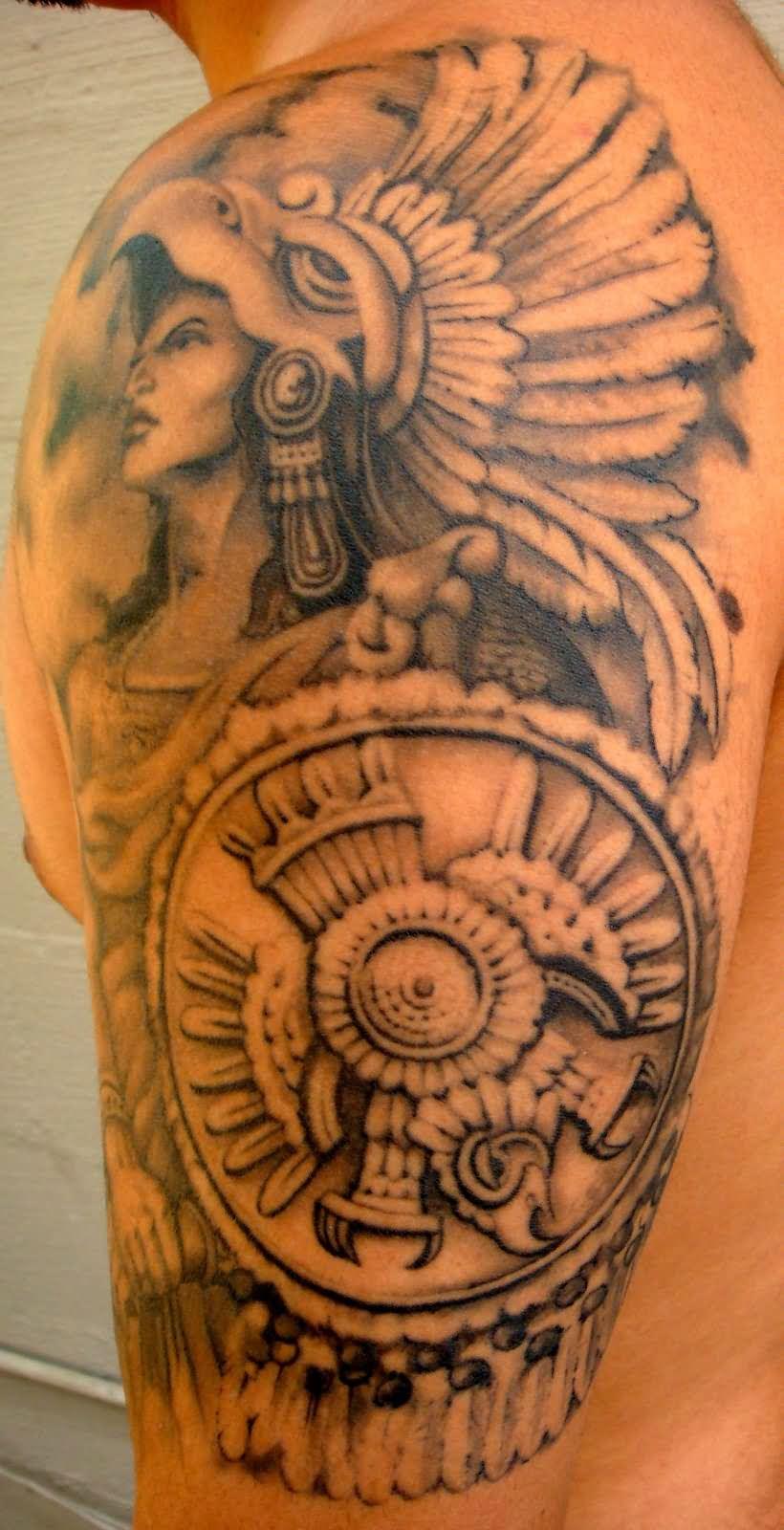 aztec tattoos photo - 5