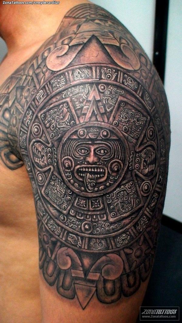 aztec tattoos photo - 6