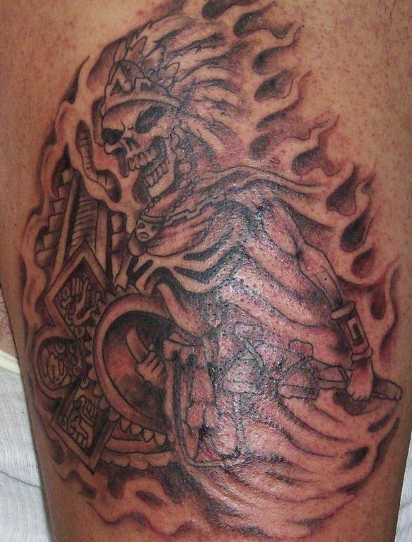 aztec tattoos photo - 7