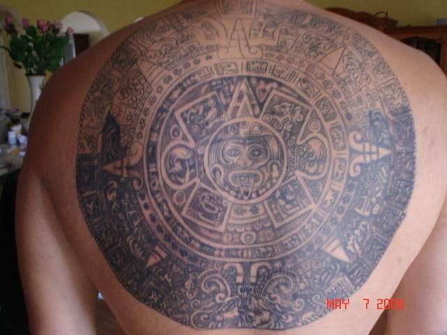 aztec tattoos photo - 9