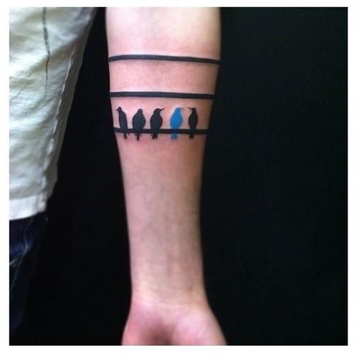band tattoos photo - 39