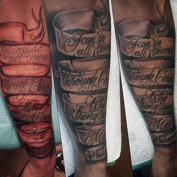banner tattoos photo - 13