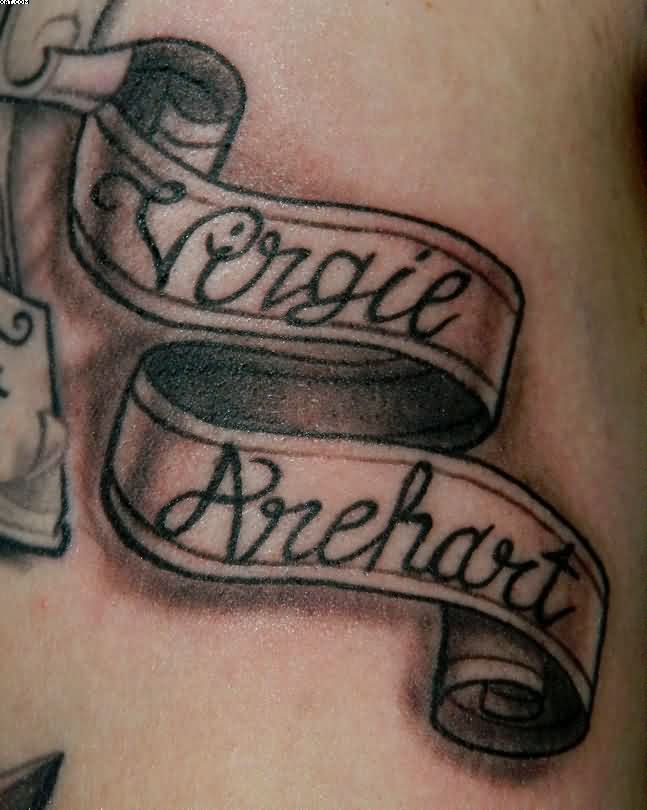 banner tattoos photo - 4