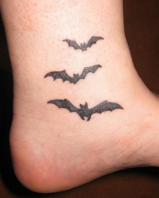 bat tattoos photo - 1
