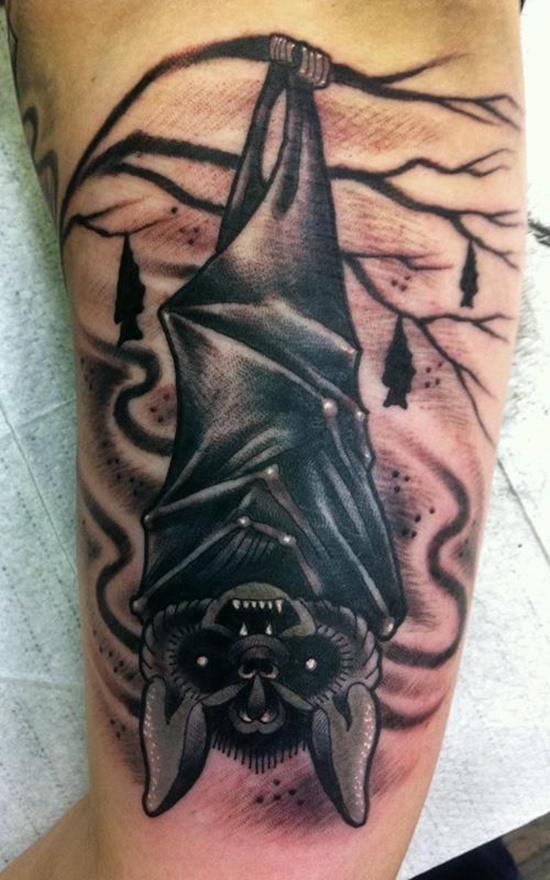 bat tattoos photo - 13