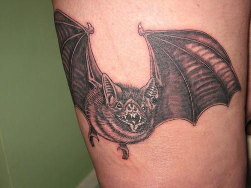 bat tattoos photo - 16