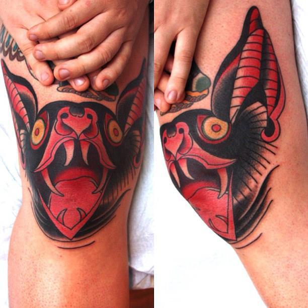 bat tattoos photo - 37